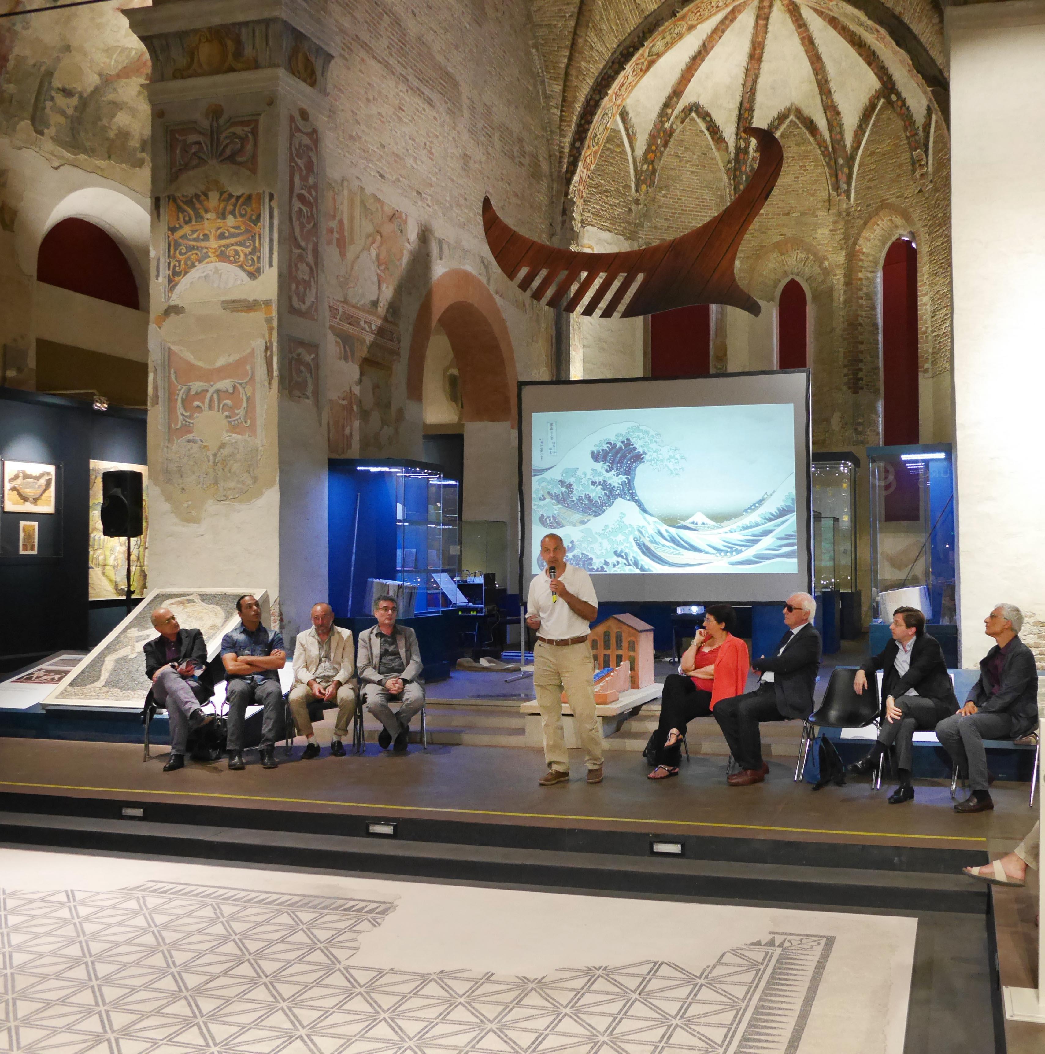 """Presentato a TAMO il progetto """"Il Mosaico dell'Onda"""" – 8 giugno 2015"""
