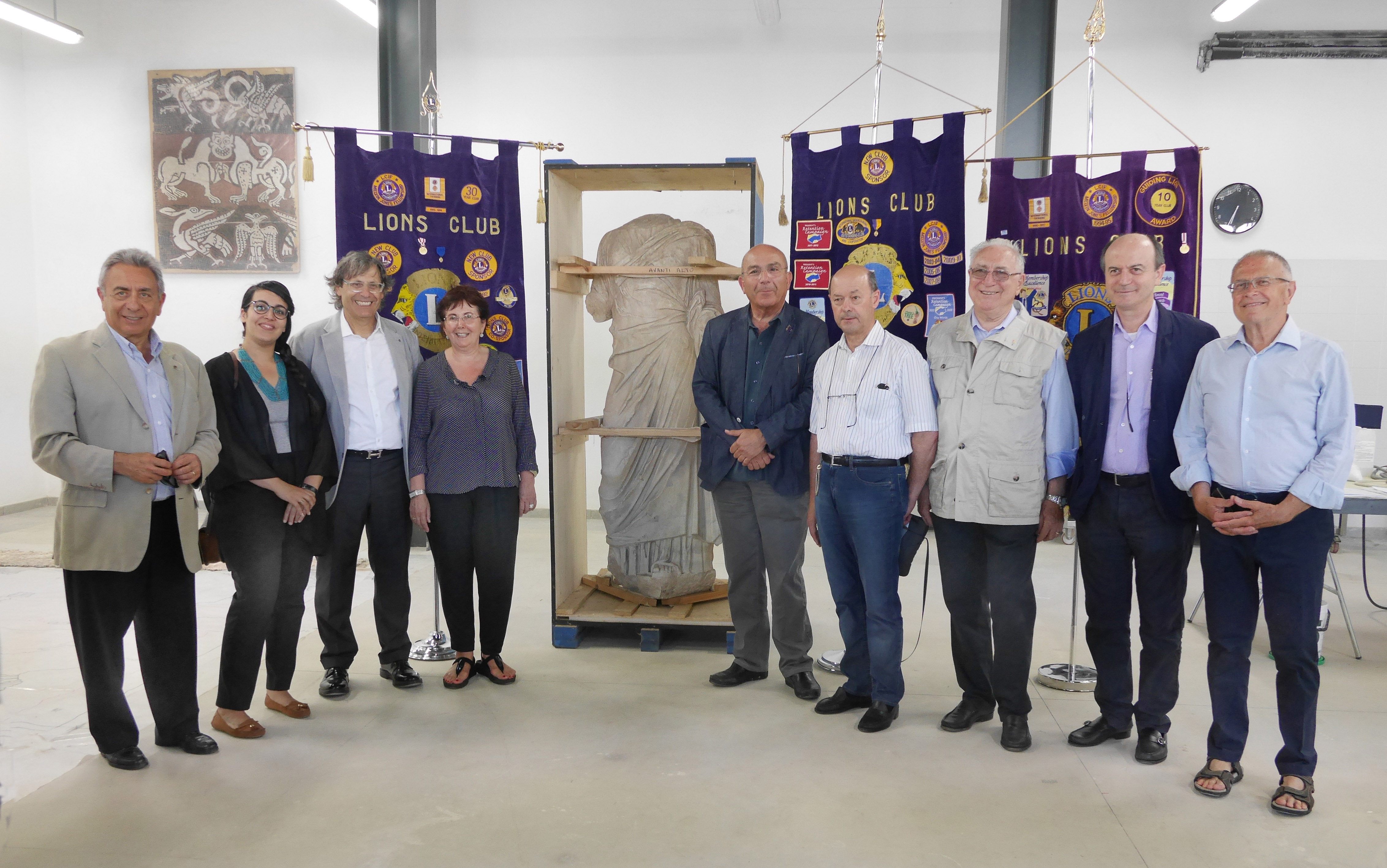 I Lions e RavennAntica uniti nel segno del restauro – 11 giugno 2015