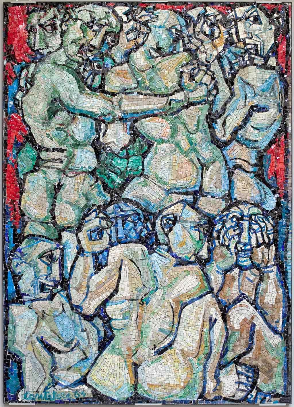 """Museo TAMO – Sezione """"Mosaici tra Inferno e Paradiso"""""""