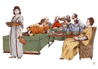 tavola-nel-vi-secolo-disegno-di-giorgio-albertini-e-colori-davide-turotti