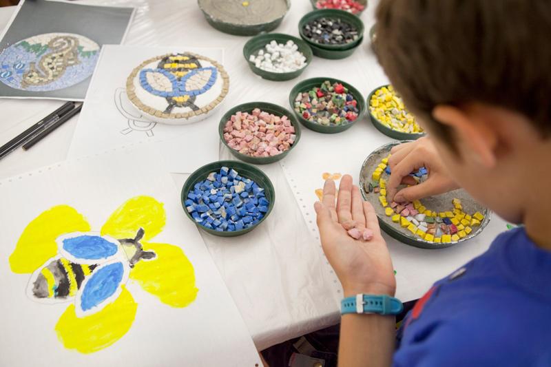 """Sabato 7 novembre, a Tamo, laboratorio didattico """"Il mosaico per gioco"""""""