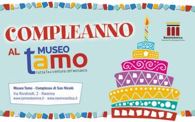 Compleanno al Museo TAMO