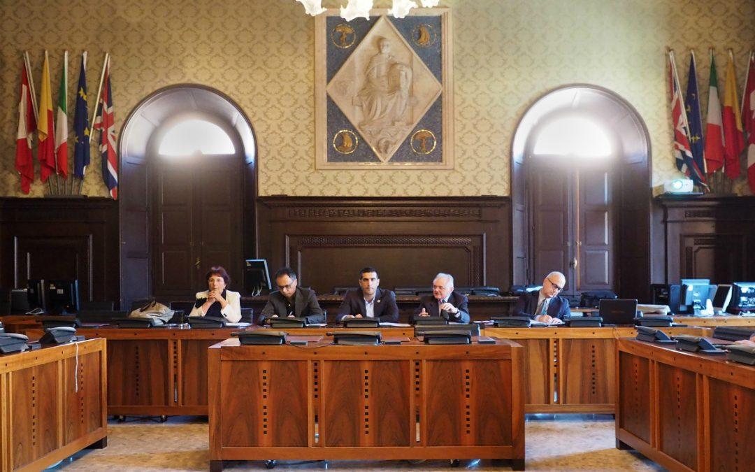 Cronoprogramma lavori Museo della Città e del Territorio di Ravenna