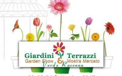 """Dal 22 al 24 settembre la Cripta Rasponi e i Giardini pensili tra i protagonisti di """"Giardini e Terrazzi"""" e """"Vivi il Verde"""""""