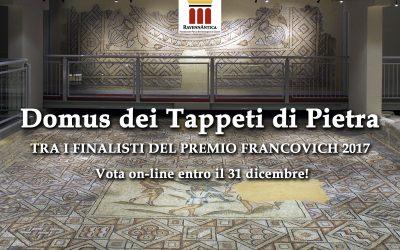 La Domus dei Tappeti di Pietra candidata al Premio Francovich 2017
