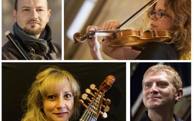L'Ensemble Quadrios protagonista di Tamo Barocca di domenica 15 ottobre