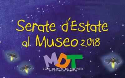 Serate d'Estate al Museo 2018