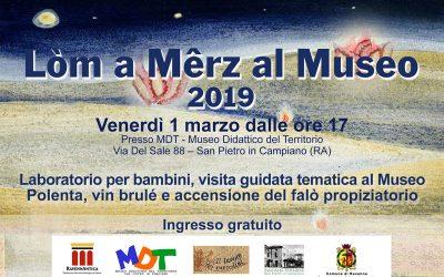 Lòm a Mêrz 2019 al Museo MDT – San Pietro in Campiano