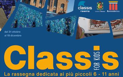 Classis for kids: tutti i nuovi appuntamenti dell'autunno 2020
